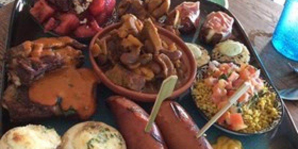 Lunchen bij Maroc